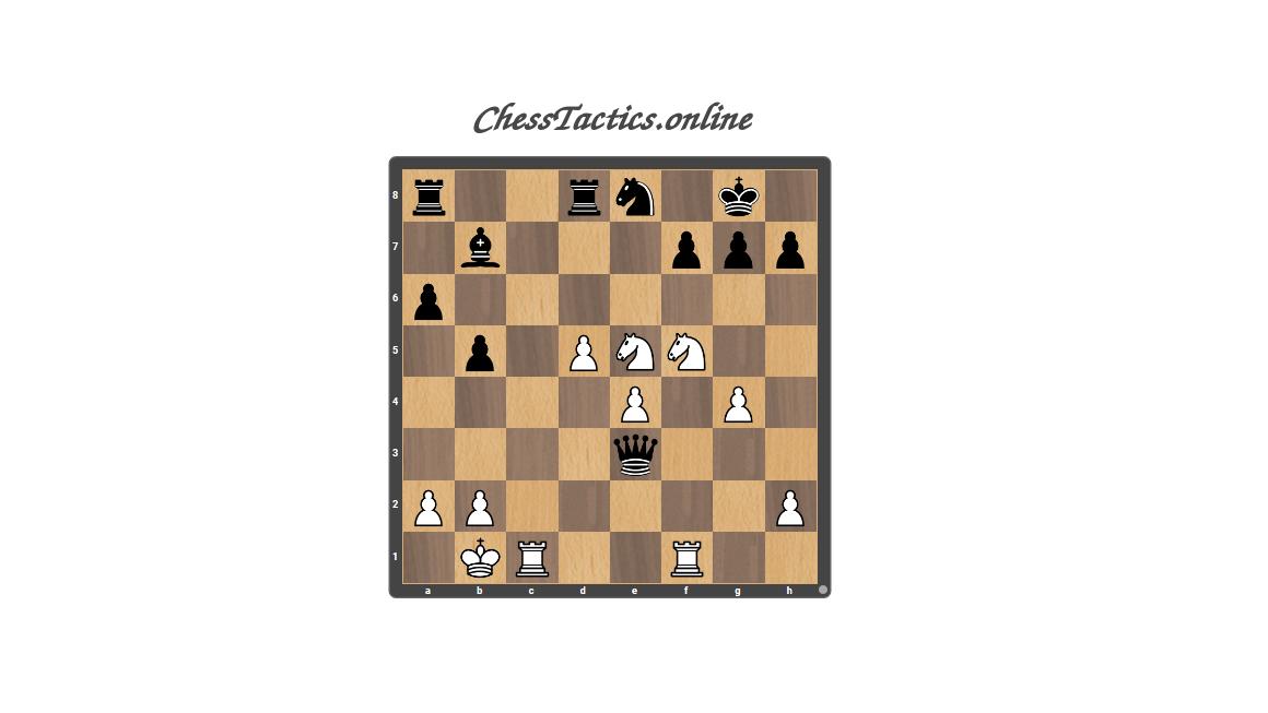 Chess Tactics All Puzzles