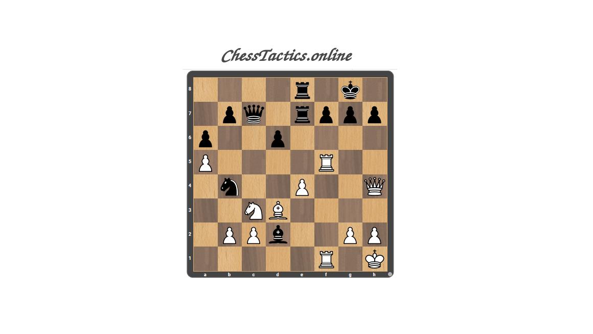 Chess Tactics Puzzles Advanced Level