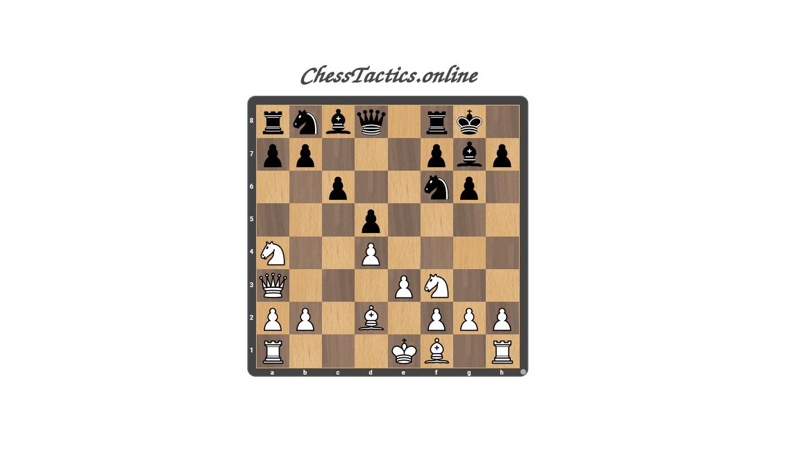 Chess Tactics Puzzles Blockade Beginner Level