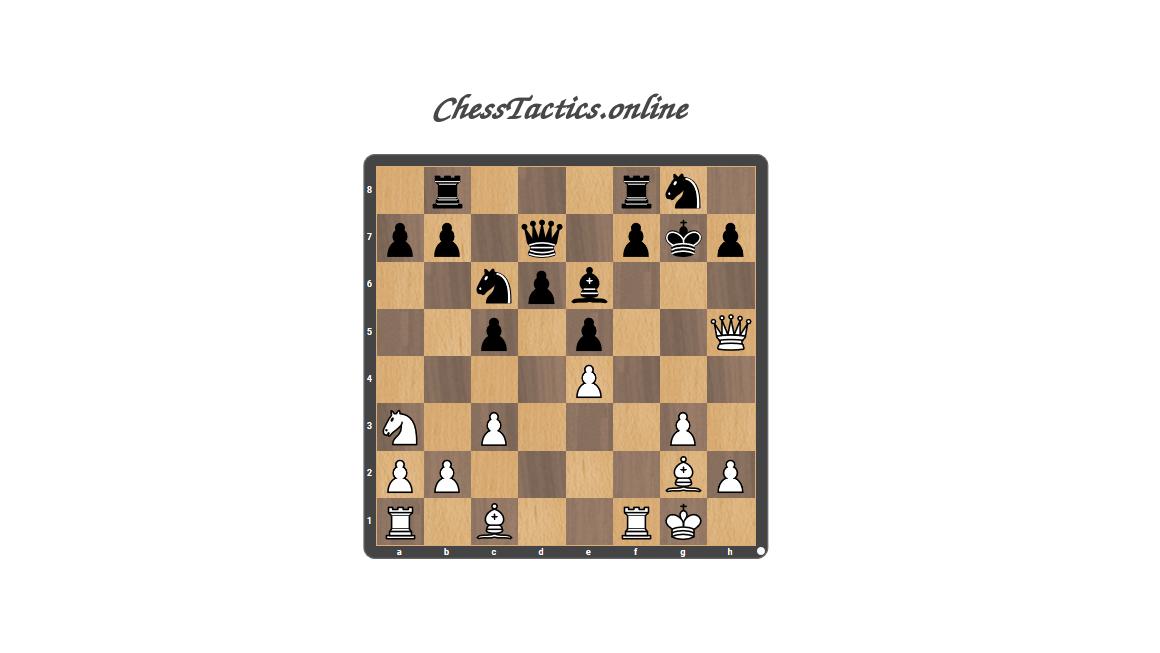 Chess Tactics Puzzles Decoy
