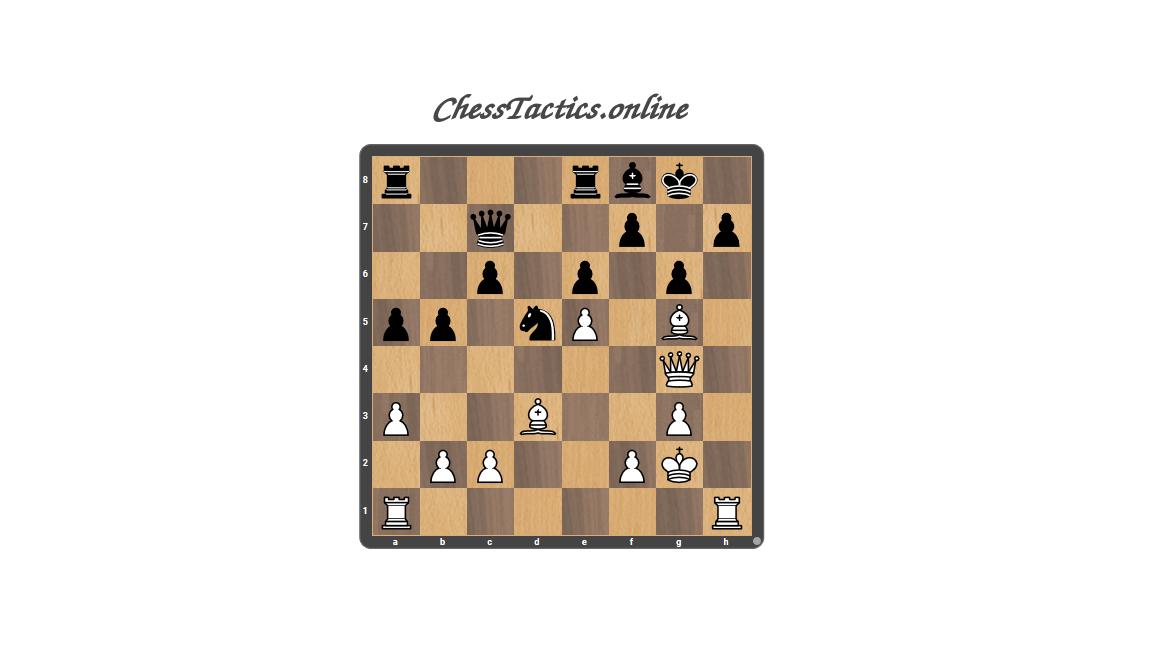 Chess Tactics Puzzles Elimination Advanced Level