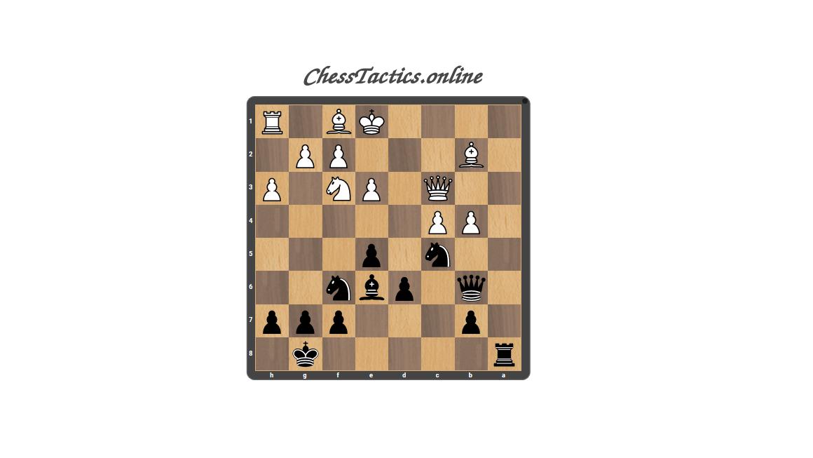 Chess Tactics Puzzles Zwischenzug Advanced Level