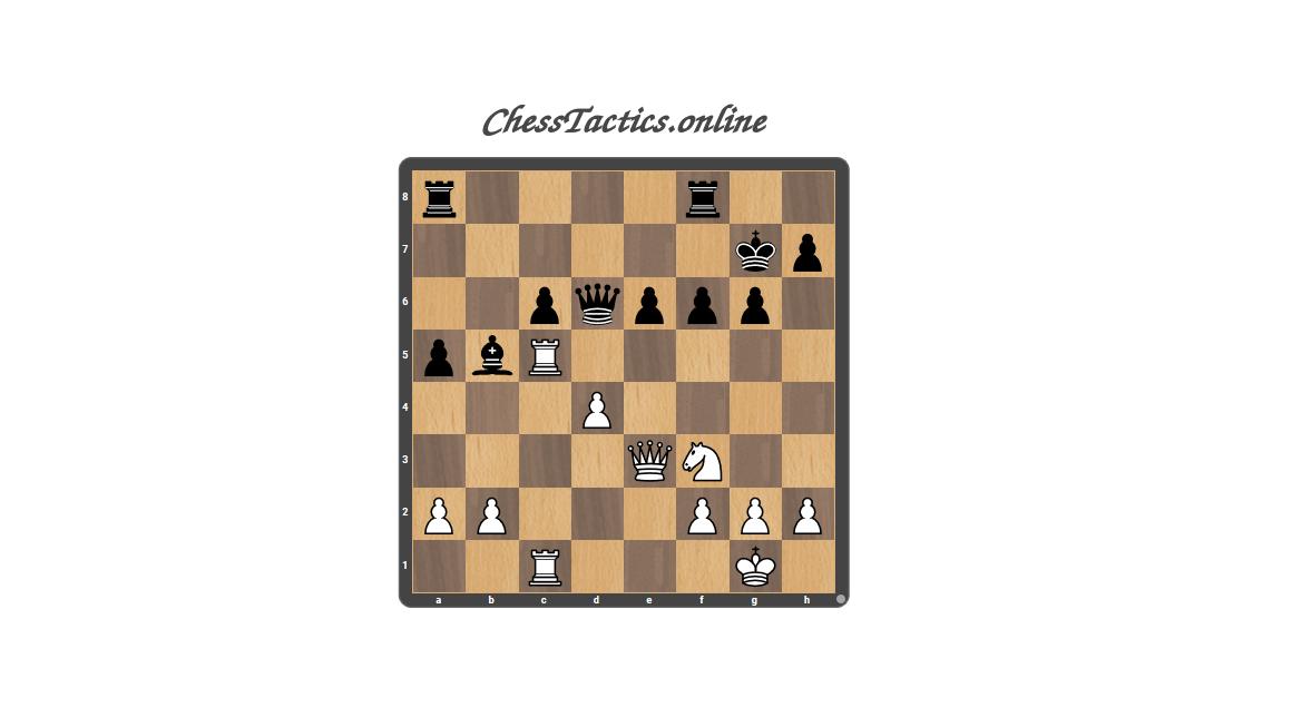 Chess Tactics Puzzles Zwischenzug