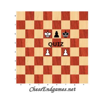 Opposition in Pawn Endgames Quiz