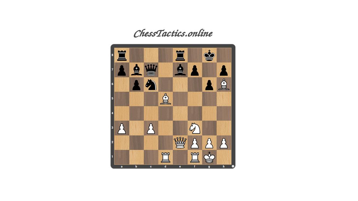 Chess Tactics Checkmate Decoy Advanced Level