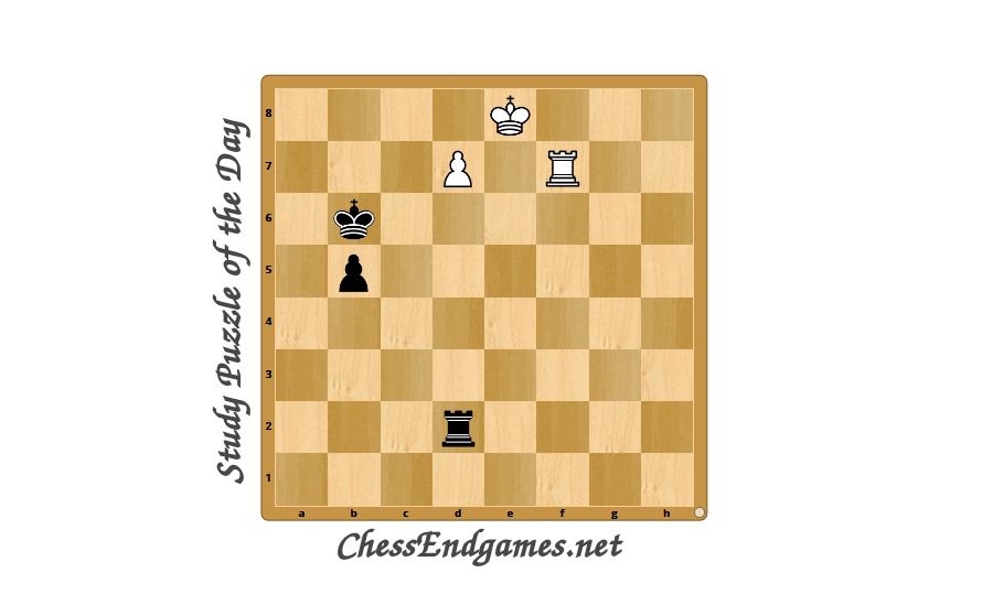 Study Puzzle of The Day M.Botvinnik 1939