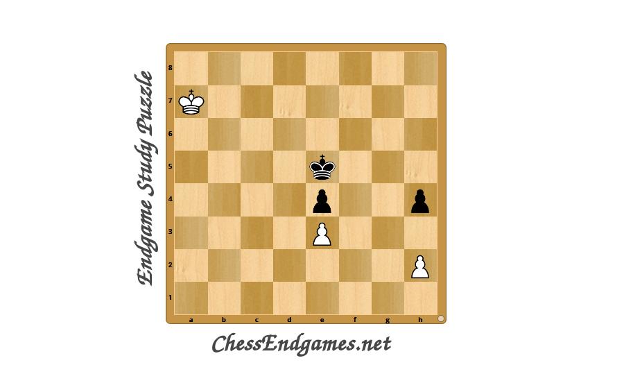 Endgame Study Puzzle S. Afonin 1955
